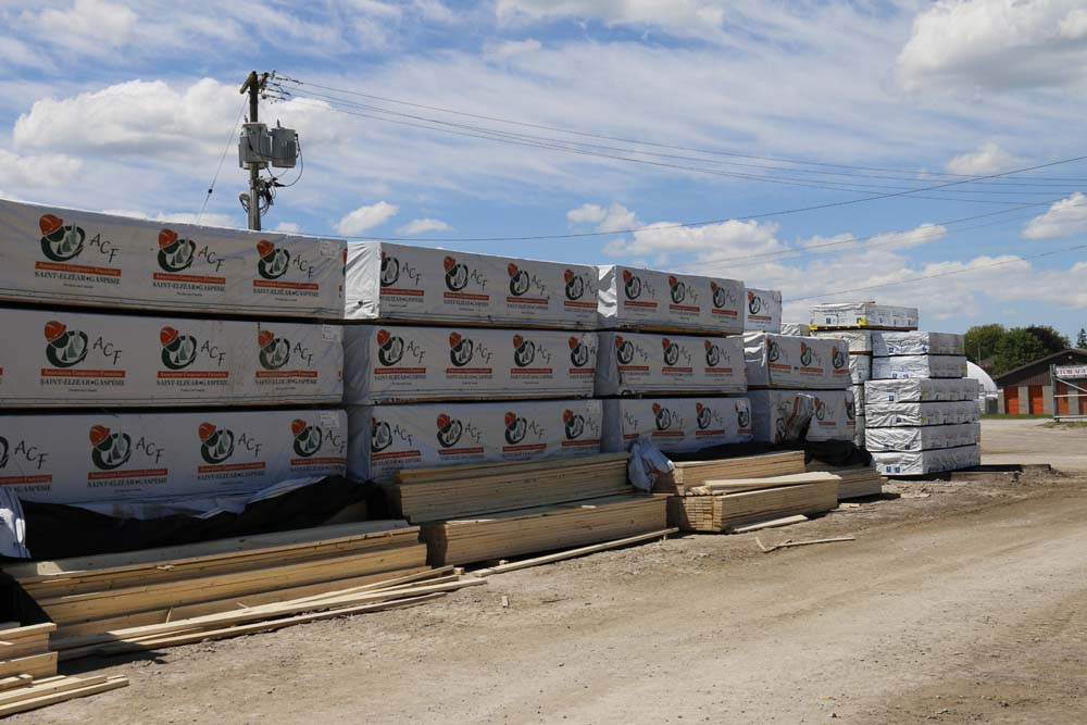 Lumber at Scugog Lumber