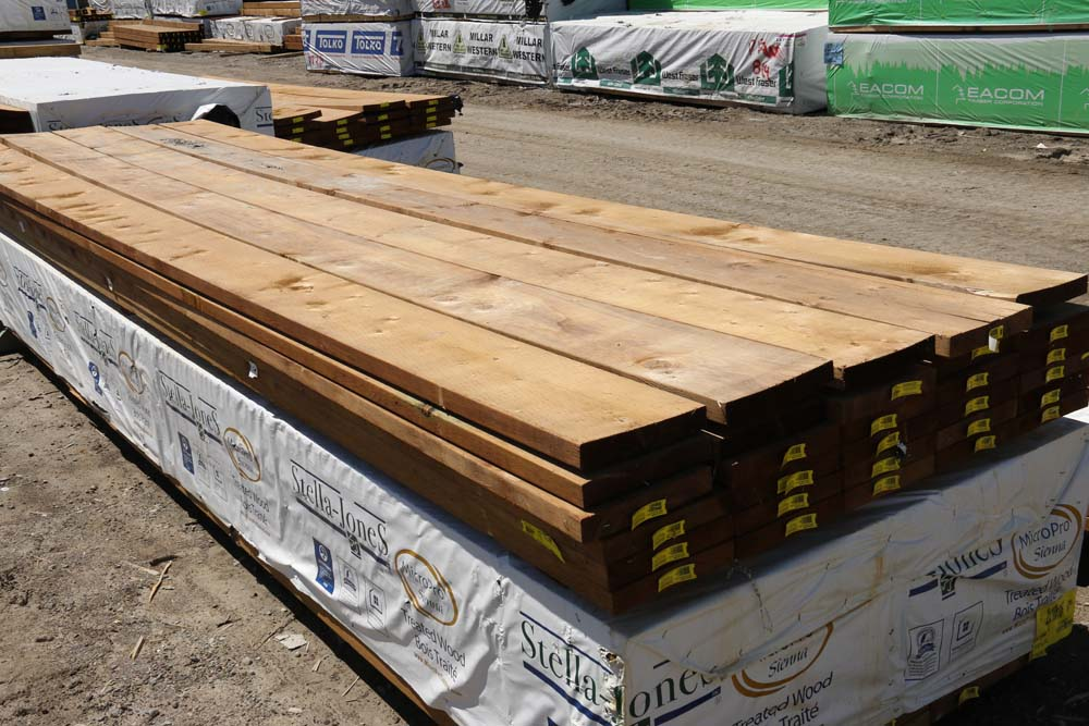 New Lumber at Scugog Lumber